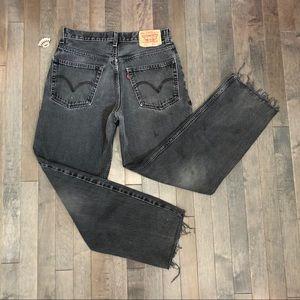 Vintage Levi's Faded Black 550 Jeans!!!
